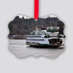 Arrival on Water Picture Ornament