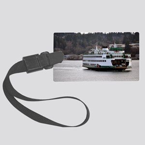 Arrival on Water Large Luggage Tag