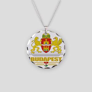 Budapest COA (Flag 10) Necklace Circle Charm