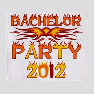 flamesbachparty2012 Throw Blanket