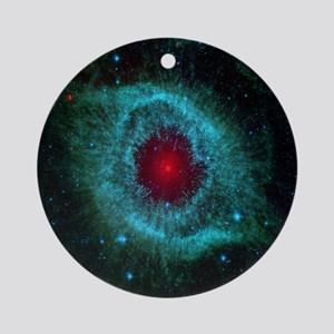 The Eye of God Round Ornament