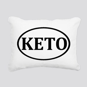 KETO Logo Rectangular Canvas Pillow