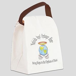 NAOH logo Canvas Lunch Bag