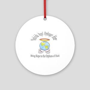 NAOH logo Round Ornament