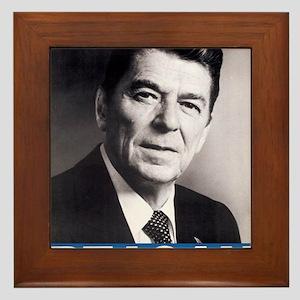 ART Reagan Framed Tile