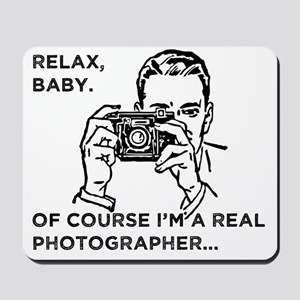 Relax baby, Mousepad