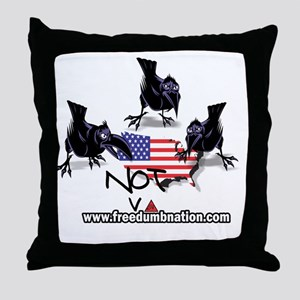 UNRavens10X10 Throw Pillow