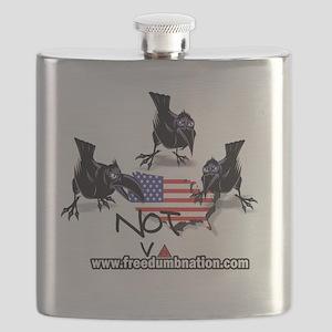 UNRavens10X10 Flask
