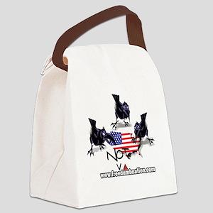 UNRavens10X10 Canvas Lunch Bag
