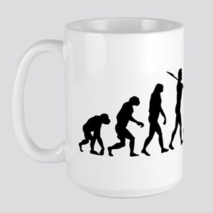 Evolution of Man - Centaur Large Mug