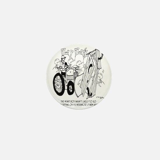 5954_outhouse_cartoon Mini Button