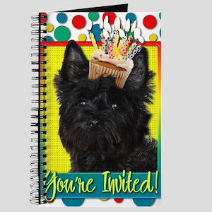 InviteCupcakeCairnTerrierRosco Journal