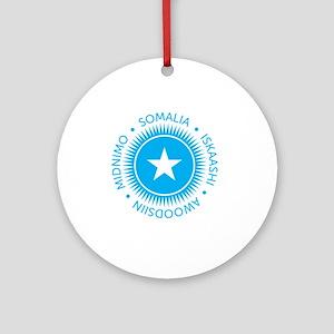 ESsomali10x10_apparel Round Ornament