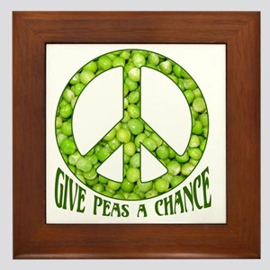 GivePeasachance Framed Tile