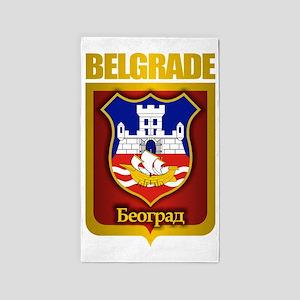 Belgrade Gold 3'x5' Area Rug