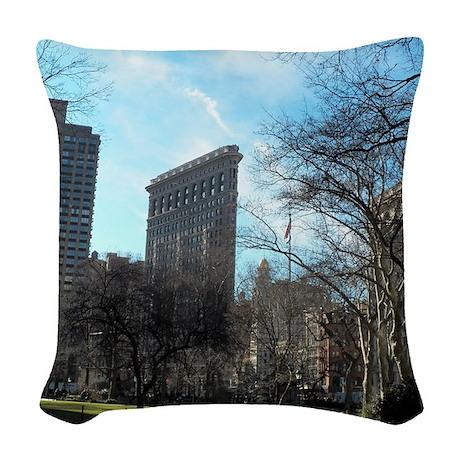 100_0417 Woven Throw Pillow