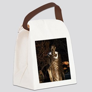 gandhi-union-square-nyc Canvas Lunch Bag