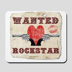 wanted_rockstar Mousepad