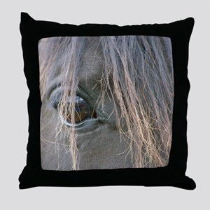 Spiffys eye Throw Pillow