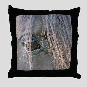Spiffys eye Throw Pillow