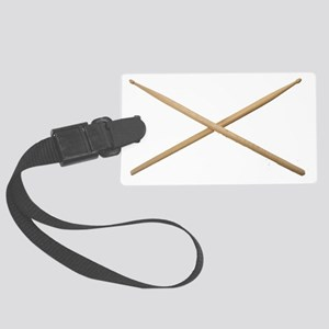DRUMSTICKS III Large Luggage Tag