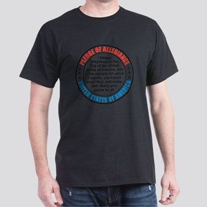 oct_pledge_of_allegiance_2 Dark T-Shirt