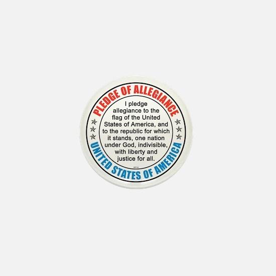 oct_pledge_of_allegiance_2 Mini Button