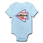 USS BATON ROUGE Infant Bodysuit