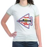 USS BATON ROUGE Jr. Ringer T-Shirt