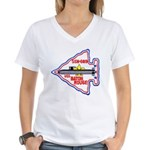 USS BATON ROUGE Women's V-Neck T-Shirt