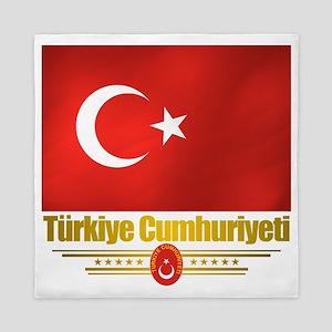 Turkey (Flag 10) Queen Duvet