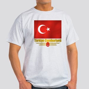 Turkey (Flag 10) Light T-Shirt