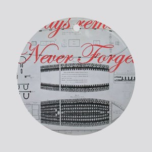 nf slave ship Round Ornament