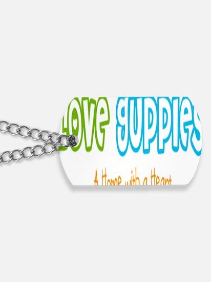 Love guppies Brand Dog Tags