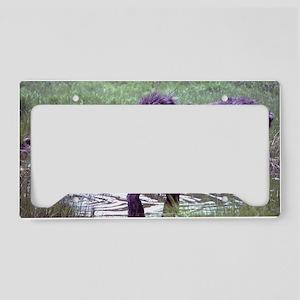 Mister Moose License Plate Holder