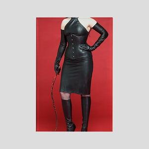 Vinyl Queen-012 Rectangle Magnet