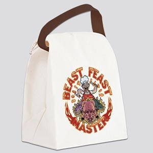 beast-feast2-T Canvas Lunch Bag