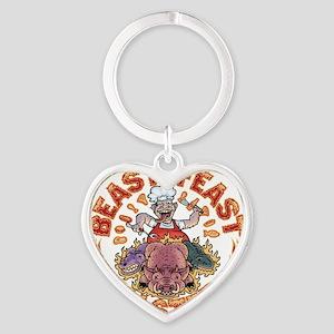 beast-feast2-T Heart Keychain
