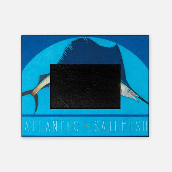 Atlantic Sailfish Picture Frame