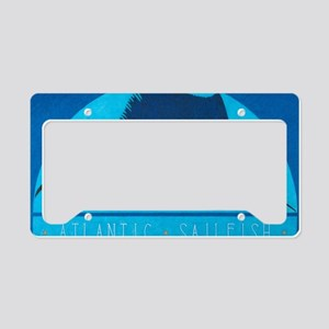 Atlantic Sailfish License Plate Holder