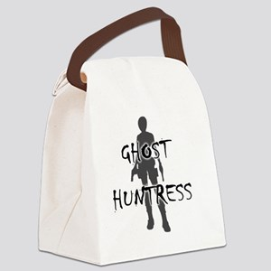 ghost huntress Canvas Lunch Bag