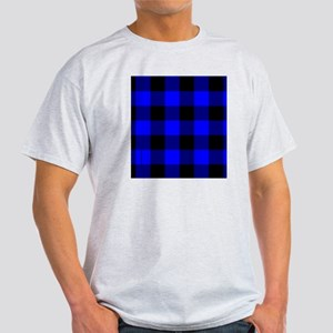 flipflopsbluecheckered Light T-Shirt