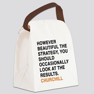 CHURCHILL_8 Canvas Lunch Bag