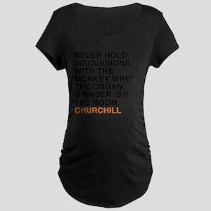 CHURCHILL_11 Maternity Dark T-Shirt