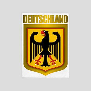 Deutschland Pride 5'x7'Area Rug