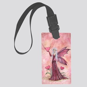 The Flying Valentine Large Luggage Tag