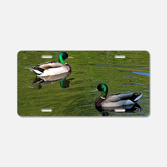 Duck dance Aluminum License Plate