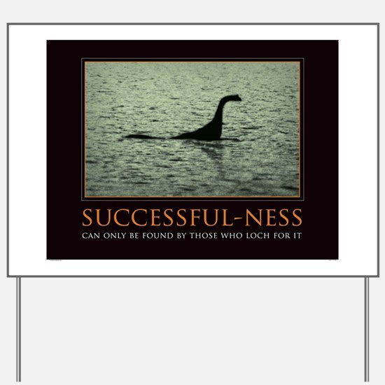 successfulnessposter Yard Sign