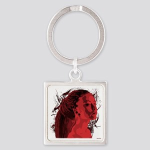 tipacoidreadROSSSO Square Keychain