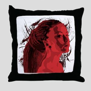 tipacoidreadROSSSO Throw Pillow